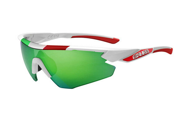GLASSES SALICE 012ITA Mod. WHITE Lens Rainbow Green GLASSES salice 012ITA WHITE