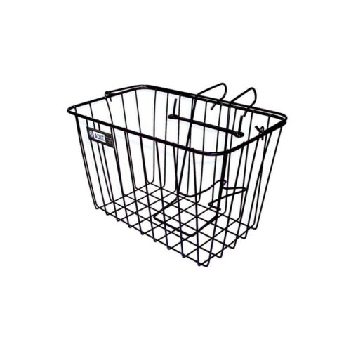 Adie Bicycle Cycle Front Wire Basket With Bracket Holder Large