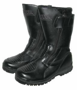">>> "" PROBIKER "" Motorradstiefel / Stiefel / Biker- Boots in schwarz Gr. 41"