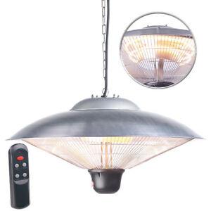 semptec ir decken heizstrahler mit led licht fernbedienung bis w ip34 ebay. Black Bedroom Furniture Sets. Home Design Ideas