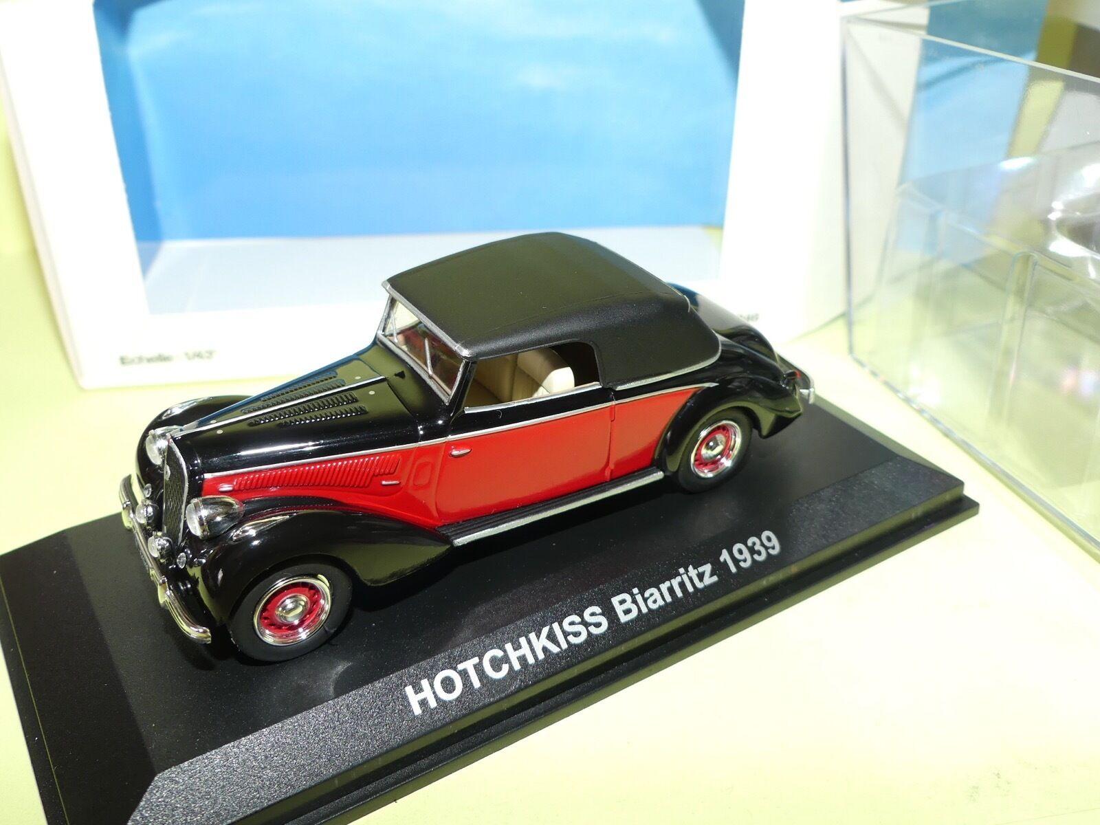 HOTCHKISS BIARRITZ 1939 Rouge NOREV 1 43