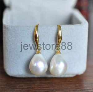 Image Is Loading Aaa 12 13mm South Sea White Baroque Pearl