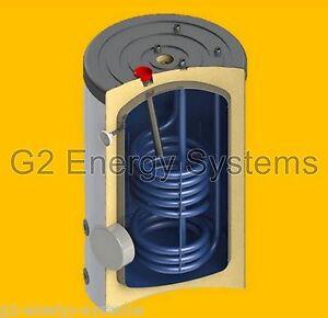 150 160 l liter warmwasserspeicher boiler 1 w rmetauscher anschl sse oben ebay. Black Bedroom Furniture Sets. Home Design Ideas