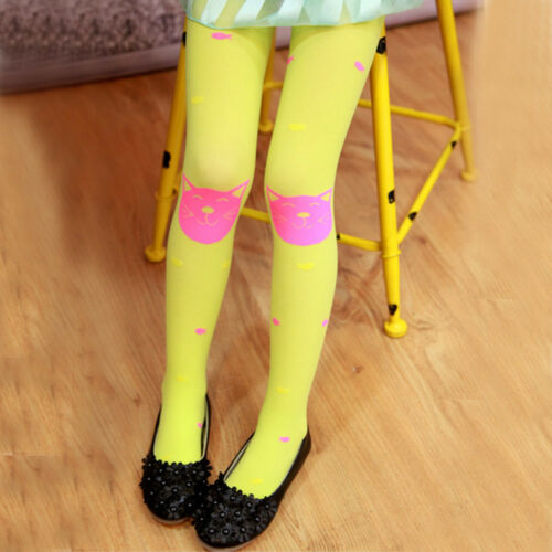 Autumn Winter Girls Tights Bearded Fashion Knitted Stocking Warm Baby Pantyhose