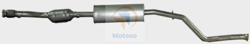 Exhaust Catalytic Converter PEUGEOT 206CC 2.0 EW10J4 10//2000-12//2006 EURO 3