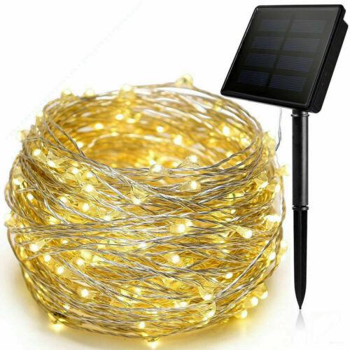 LED Solar Power Fairy Lights String Lamps Party Xmas Decor Home Garden Outdoor E