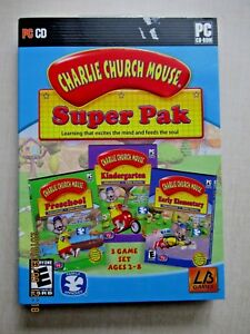 Charlie Church Mouse, Super Pak PC/CD-Rom | eBay