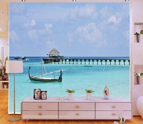 3D Die aussicht auf den SEE 6 Fototapeten Wandbild Fototapete BildTapete Familie