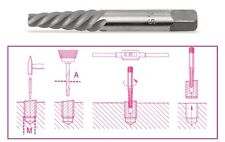 Beta Tools 1430/8 Tapered Extractor for Broken Screws and Studs