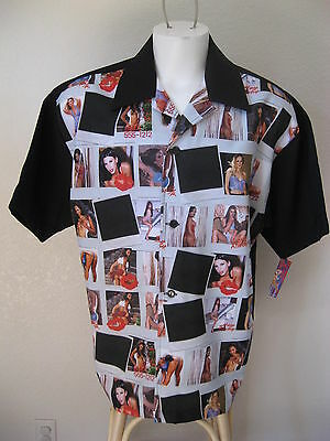 NEW Rockabilly Bowling Shirt Polaroid Pics Pinup Girls Lingerie Tattoo ALL SIZES