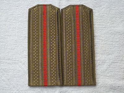 Schulterstücken Landstreitkräfte Hemd Uniform UDSSR CCCP Sowjet Armee