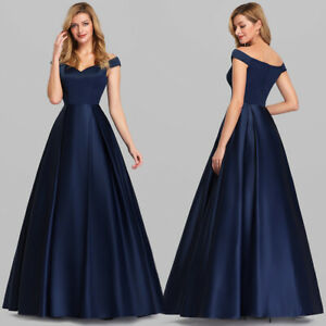 Ever-Pretty-Evening-Prom-Gown-Long-Off-Shoulder-A-Line-Formal-Dress-Navy-Blue