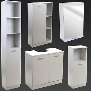 Image Is Loading Bathroom Storage Cupboard Unit Cabinet Shelves Under Sink