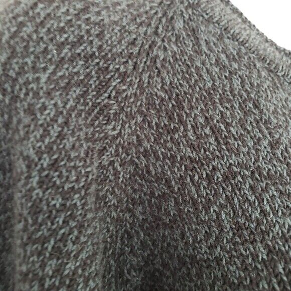 Vintage John Rich & Bros Woolrich Black Grey Knit… - image 3