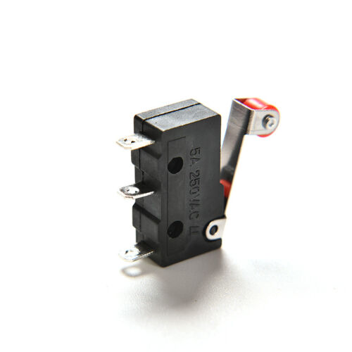 Micro Roller Hebel Arm Öffnen schließen Endschalter KW12-3 PCB Mikroschalter  ~E