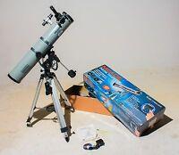 Meade Digital 114EQ-DH4 Equatorial Newtonian Telescope Motorized Starfinder