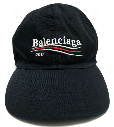 Authentic BALENCIAGA cap baseball cap L cotton uni