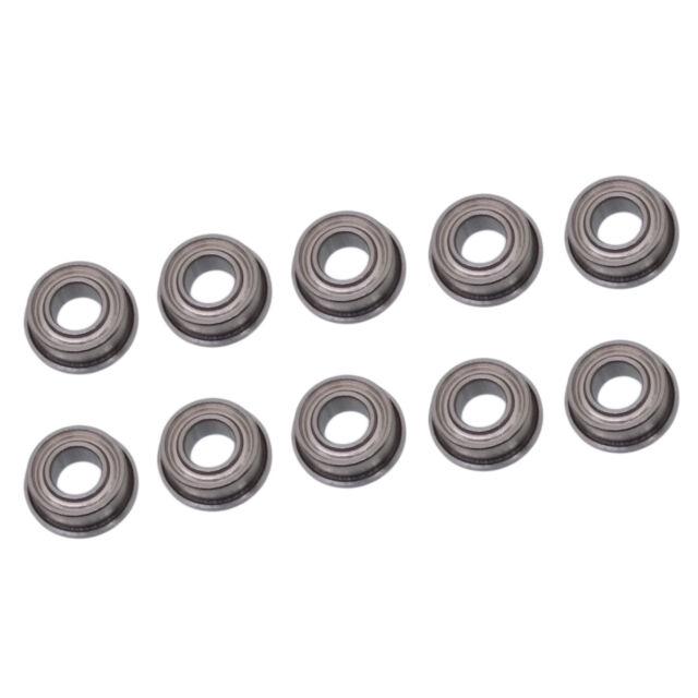 US Stock 10pcs MF105ZZ Double Shielded Flanged Ball Bearings 5mm x 10mm x 4mm