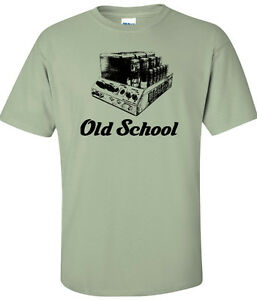 Details about Old School Macintosh tubes tee shirt, screen printed, cotton