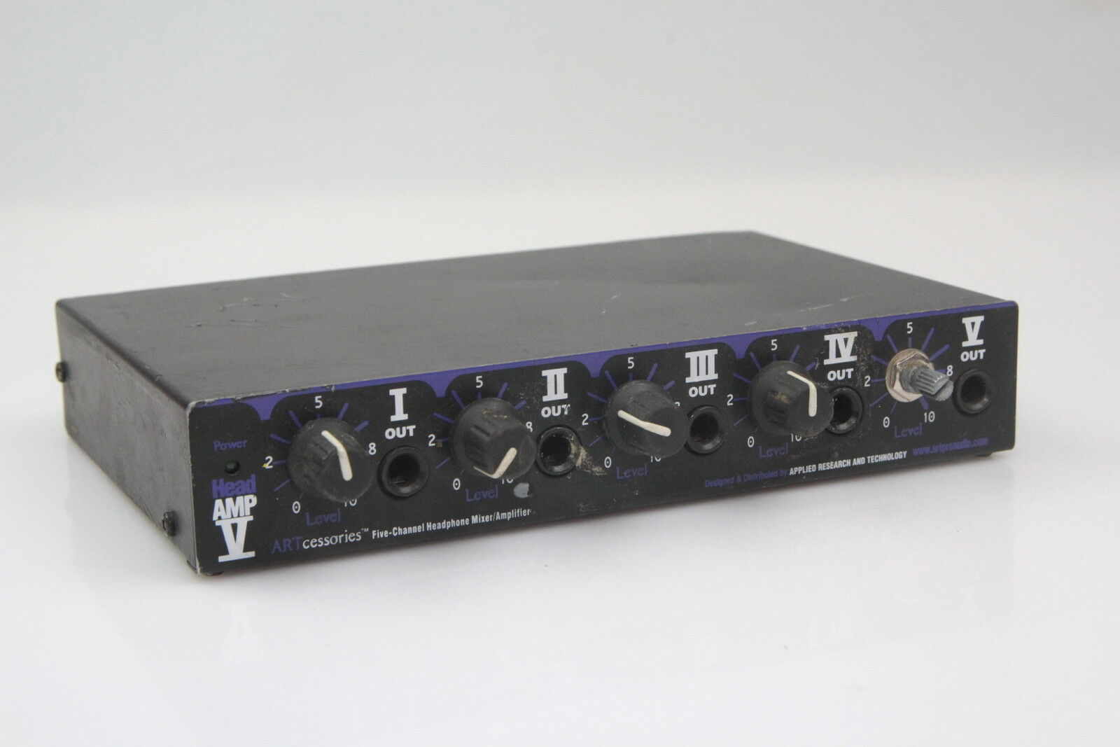 ART 5 Five-Channel Headphone Mixer Amplifier Head AMP  1