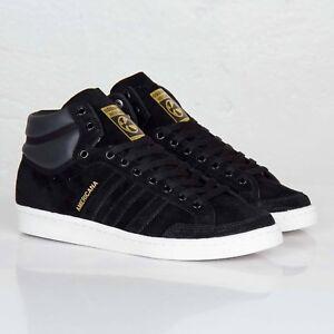 finest selection 9d051 975f2 Image is loading Adidas-Originals-Americana-Hi-88-Gold-Black-Mens-