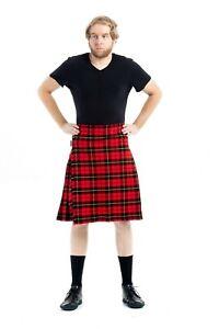 Wallace Tartan Kilt Par Kilt Écossais   Sur Mesure