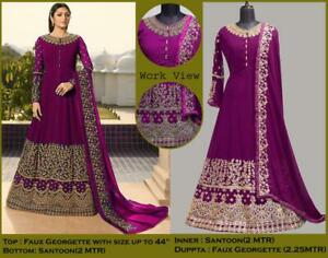 Salwar-Kameez-Indian-Suit-Designer-Pakistani-Wedding-Shalwar-Formal-Wear-Dress