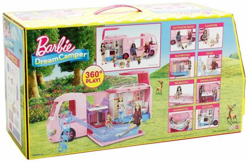 dream camper sogni barbie campeur reves traume suenos camping playset toys FBR34