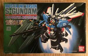 Version pour unité de surpression Bandai S-gundam Sentinel 4, kit de maquette, échelle 1: 144 Msa-0011