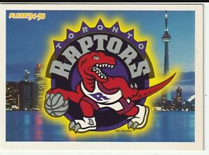 1994-Fleer-034-Toronto-Raptors-034-Entry-into-The-NBA-Trading-Card-034-Very-Nice-034