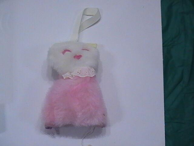NEW 1973 w tag Eden Plush  Rosa Soft Stuff Cloth Kitty Cat Washable Music Box