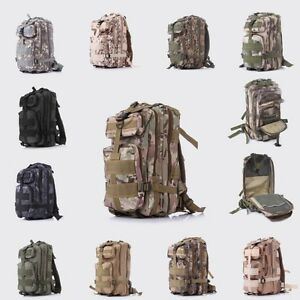 Military-3P-Tactical-Backpack-Wearproof-Nylon-Sport-Bag-30L-for-Camping-Trekking