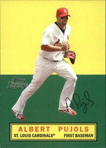 2011-Topps-Lineage-Baseball-Stand-Ups-Albert-Pujols-St-Louis-Cardinals