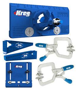 Kreg Drawer Slide Mounting Tool Cabinet Hardware Jig Hinge