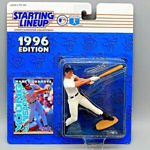 Starting Lineup Marty Cordova 1996 MLB Minnesota Twins Action Figure and Card