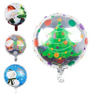 1-X-Christmas-Tree-Santa-Claus-Snowman-Foil-Balloons-Fun-Toys-Party-Decor-AU