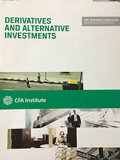 CFA Derivatives and Alternative Investments 2013 Level I Volume 6
