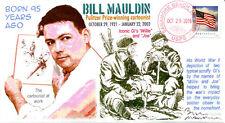 COVERSCAPE computer designed 95th anniversary birth of Bill Mauldin event cover
