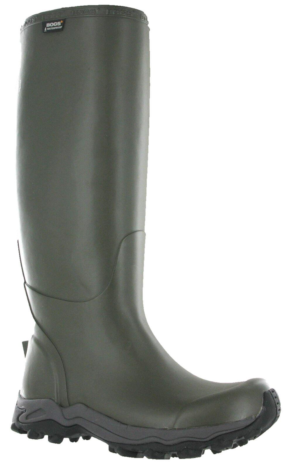 Bogs Wellingtons Farmer Tall Bradford Rubber Stiefel Cushioned Grip Wellies Mens