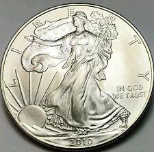 2010  AMERICAN EAGLE SILVER COIN, 1 Oz.999% Purity, Brilliant Uncirculated C#2