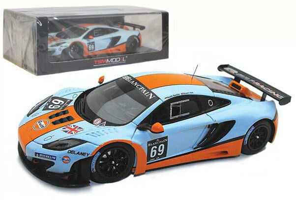 Truescale McLaren MP4-12C whitepain Series Paul Ricard 2012 - 1 43 Scale