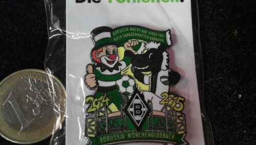 Borussia Mönchengladbach Pin Badge Karneval 2014-2015 Klaun Fohlen