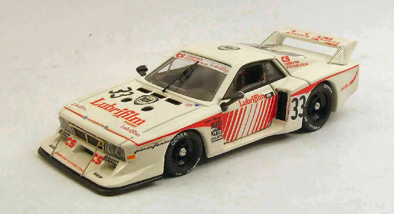 Lancia Beta  33 liste d'exécutions 1000 HM Monza 1981 Pianta Beau Finotto 1 43 MODEL