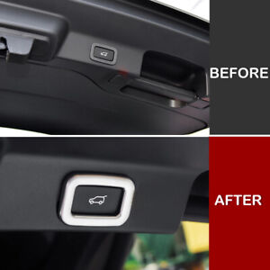 For-Jaguar-F-PACE-2016-2018-Rear-Trunk-Tailgate-Switch-Button-Knob-Cover-Trim