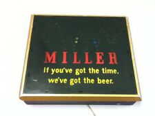 Miller High Life beer sign motion bouncing ball bounce lighted bar light tap HL5