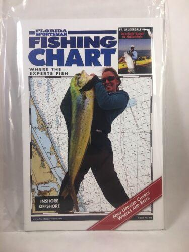 Florida Sportsman gráfico de pesca Nº 08 Ft Lauderdale Peixe Isca De Pesca Isca