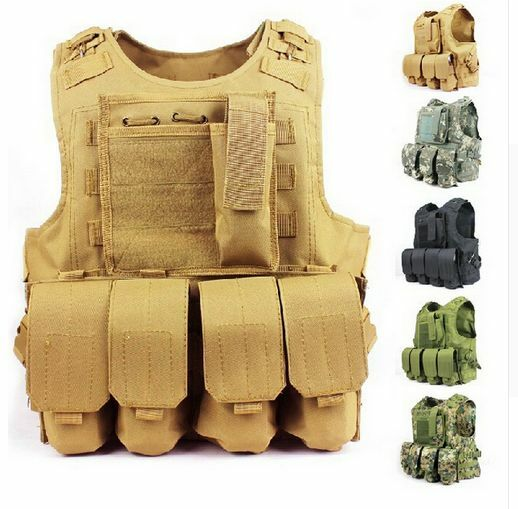 Military Vest Army Tactical  Assault Combat Swat Camouflage Molle Hunting Special  good reputation