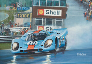 Image Is Loading Pedro Rodriguez Gulf Porsche 917 Brands Hatch Motor