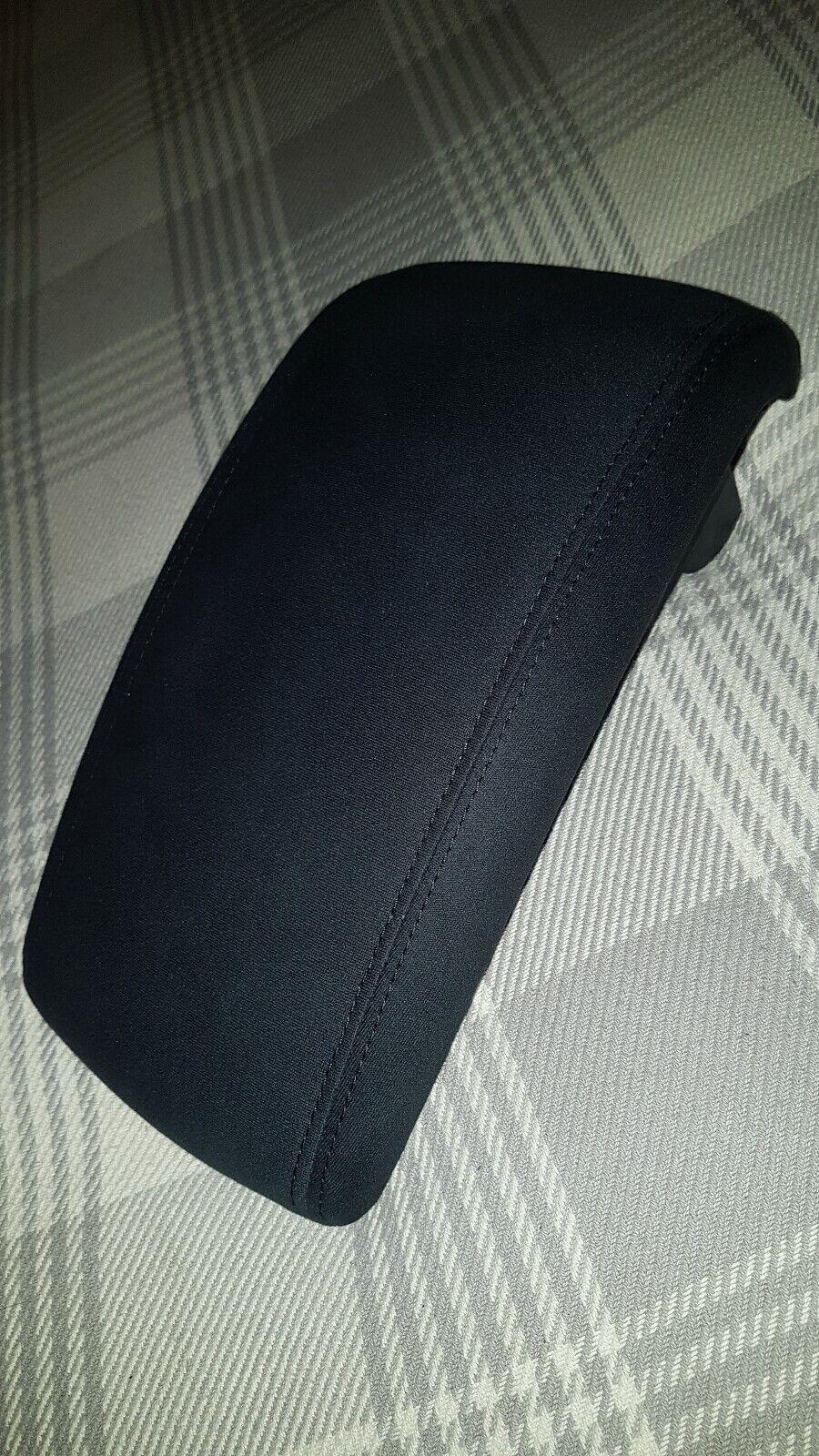 Genuine NISSAN Juke 2014-on Black Leather Armrest with Red Stitching  KE8771K3RE