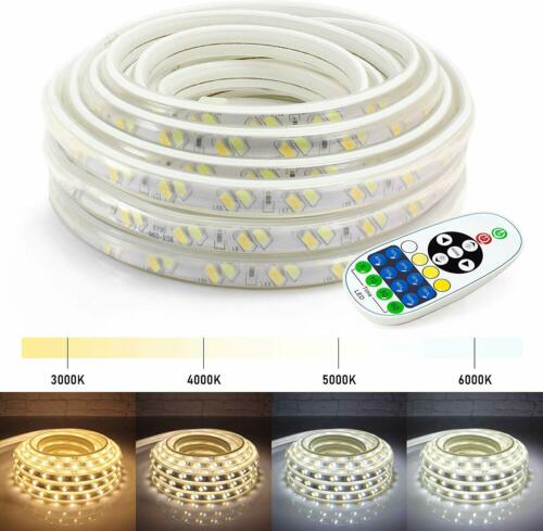 WYZworks Warm /& Cool White SMD 5730 Dimming Flex LED Light Strip 25 50 100 ft